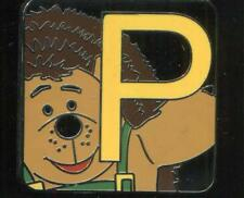 Pixar Alphabet Mystery Collection P Mr. Pricklepants Disney Pin 115999