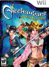 Nintendo Wii Onechanbara Bikini Zombie Slayers Motion Video Game Armed Hot Babes