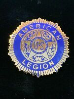 1980's Vintage US American Legion (Large) hat push pin, lapel