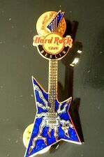 HRC Hard Rock Cafe Berlin Rock Guitar Series 2006 Blue Explorer LE300