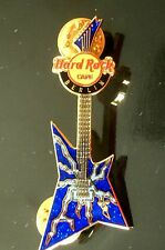 HRC Hard Rock Cafe Berlin Rock Guitar Series 2006 Blue Explorer LE300