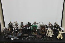 LOTR Large LORD OF THE RINGS Lot of Action Figures, Aragorn, Gimli, Asfaloth +