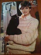Patons Beehive Chunky Sweater Knitting Pattern no 8032