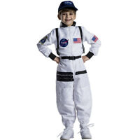 Dress up America Eye Catching White Astronaut Space Suit For Kids