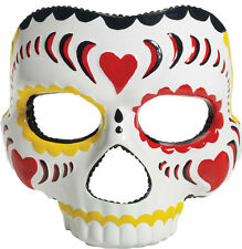 Halloween Adult Day Of The Dead Female Horror Mask Prop