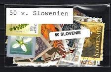 Slovénie - Slovenia 50 timbres différents