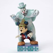 Disney Jim Shore Mickey Mouse & The Lonesome Ghost 4051979 Retired Nrfb