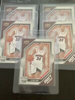 2009 Stephen Curry Upper Deck Draft Edition #34 Lot Of 5 Rookie Cards