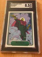 2015 Fleer Marvel Retro #21 Mysterio 1982 Fleer SGC 8.5 NM-MT+