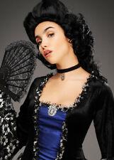 Womens Black Marie Antoinette Period Wig