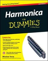 Harmonica for Dummies, Paperback by Yerxa, Winslow, ISBN 1118880765, ISBN-13 ...