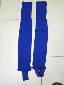 SALE: neue hochwertige Stutzen (footless sock), mittelblau, Gr. S von Masita