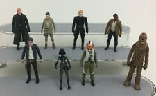 """Star Wars The Force Awakens Toy 4"""" Action Figures Lot 8pc Hasbro A3"""