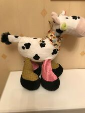 Beverly Hills Cow Soft Toy Comforter Hug Toy Plush