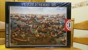 Puzzle EDUCA 6000 La Batalla de Lepanto / The Battle of Lepanto