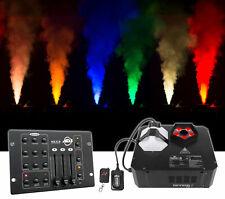 Chauvet DJ GEYSER P5 Fog Machine Fogger, RGBA+UV LED+Remote+DMX Controller