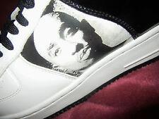 2PAC Makaveli 2PACALYPSE Checker Black Ivory White size 10.5 Tupac Shakur NEW