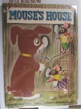 MOUSE'S HOUSE KATHRYN BYRON JACKSON RICHARD SCARRY 1949 1ST ED DJ GOLDEN BOOK