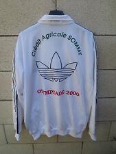 Veste ADIDAS vintage TREFOIL tracktop jacket Crédit Agricole Olympiade 2000 L