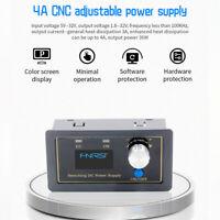 CNC DC DC Buck Boost Converter CC CV 4A Adjustable Regulated Power Module Supply
