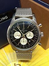 Breitling Transocean Chronograph AB0152 Black Dial BOX AND PAPERS 2019 UNWORN