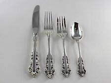 Gorham Medici Sterling Silver 4 Piece Place Setting - No Monograms