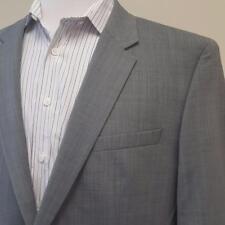 Hugo Boss Gray Suit Jacket Blazer Wool Blend Sport Coat Mens 48R 46R Halsey2