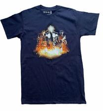 Doctor Who BBC Symphonic Spectacular Tour Graphic Blue T-Shirt Size L
