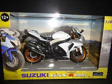 Automaxx Suzuki GSXR1000 2010 White 1/12