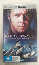 Master And & Commander The Far Side Of The World Sony PSP Umd Action Video Movie