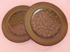 Franciscan Madeira USA (2) BREAD PLATEs 6-3/4 SET of TWO, have more items to set