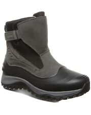 Bearpaw Mens Overland Waterproof Boots Color Charcoal Size 11