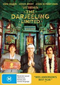 The Darjeeling Limited DVD, NEW SEALED AUSTRALIAN RELEASE REGION 4