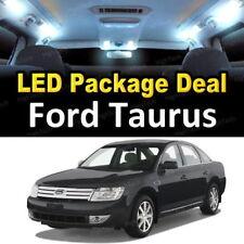 For 2008 2009 Ford Taurus LED Lights Interior Package Kit WHITE 7PCS