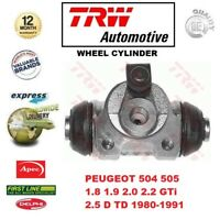 FOR PEUGEOT 504 505 1.8 1.9 2.0 2.2 GTi 2.5 D TD 1980-1991 REAR WHEEL CYLINDER