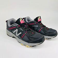 Women New Balance 410v4 Womens 9 Black Gray Pink Running Trail Shoes WT410BP4