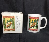 Mary Engelbreit Christmas Coffee Cup Merrily-Merrily Child on a Sled