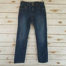DKNY Girls Size 8 Jeans Straight Leg Adjustable Waist