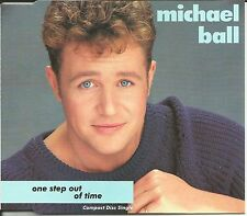 MICHAEL BALL One Step out of time w/ UNRELEASED TRK CD single Rod Argent Song