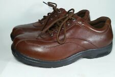 DUNHAM Men's Brown Leather Oxford Shoes Sz 9.5 6E 8001SB