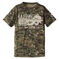 Sword Art Online GGO Llenn Camouflage Dry Cospa Character Khaki T-shirt Size XL