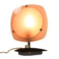 Alte Tisch Lampe Nacht Licht Lese Leuchte mit Dimmer 50er Jahre Mid Century