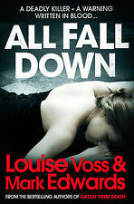 All Fall Down by Louise Voss, Mark Edwards (Paperback) New Book