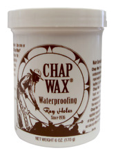 RAY HOLES LEATHER CARE PRODUCTS 6 OZ. CHAP WAX® - CW001