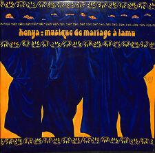 Kenya : Musique De Mariage A Lamu / Vinyl LP / Swahili / Music /
