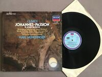 O492 Bach St. John Passion Berry Munchinger 2LP DECCA 6.48259 DM Digital Stereo