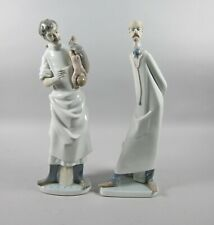Lladro The Doctor-4602 & The Obstetrician-4763 Figurines Spain