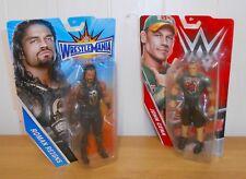 WWE-John Cena vs Romano Reina-Mattel Basics-Figuras De Lucha