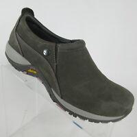 Dansko Patti Gray Nubuck Leather Waterproof Sneaker Vibram Womens Size 8.5-9/39