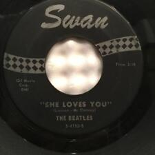 BEATLES-SHE LOVES YOU/ I'LL GET YOU SWAN S-4152~RARE LABEL 1ST ISSUE~RECO ART